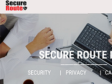 Image of Secure Route, Inc Home Page